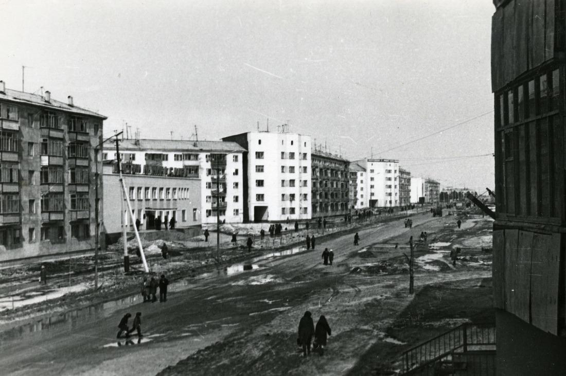 Город Надым, 1970-е годы