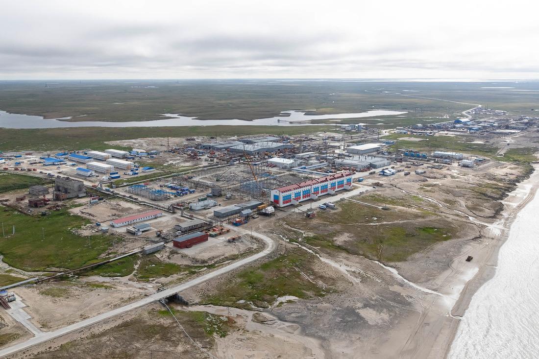 ООО«Газпром добыча Надым» продолжает обустройство Харасавэйского газоконденсатного месторождения
