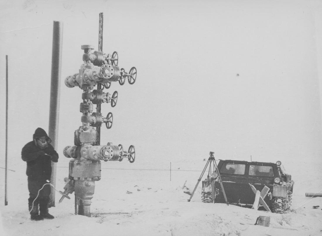 Анатолий Богданов, главный маркшейдер объединения «Надымгазпром» (ныне— ООО«Газпром добыча Надым»), середина 1980-х годов