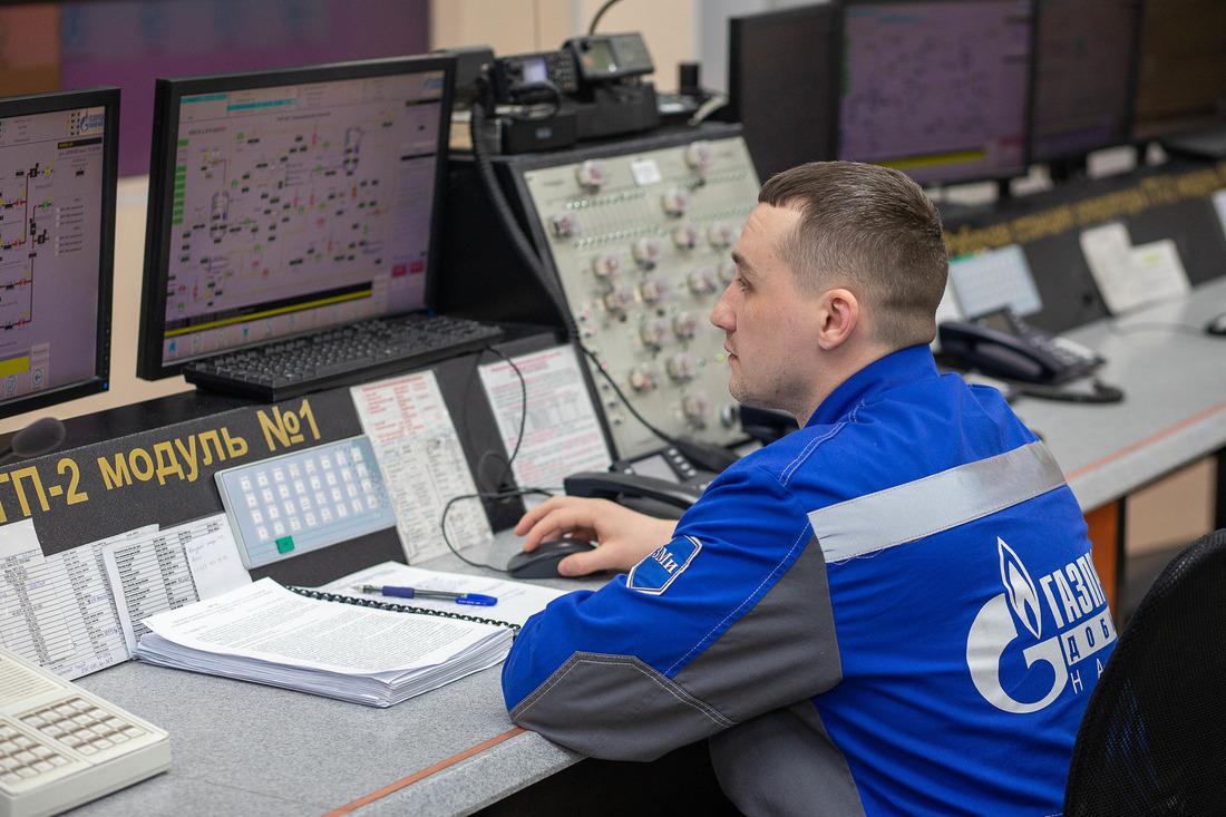 Добыча природного газа наБованенковском месторождении ООО«Газпром добыча Надым» ведётся с2012 года