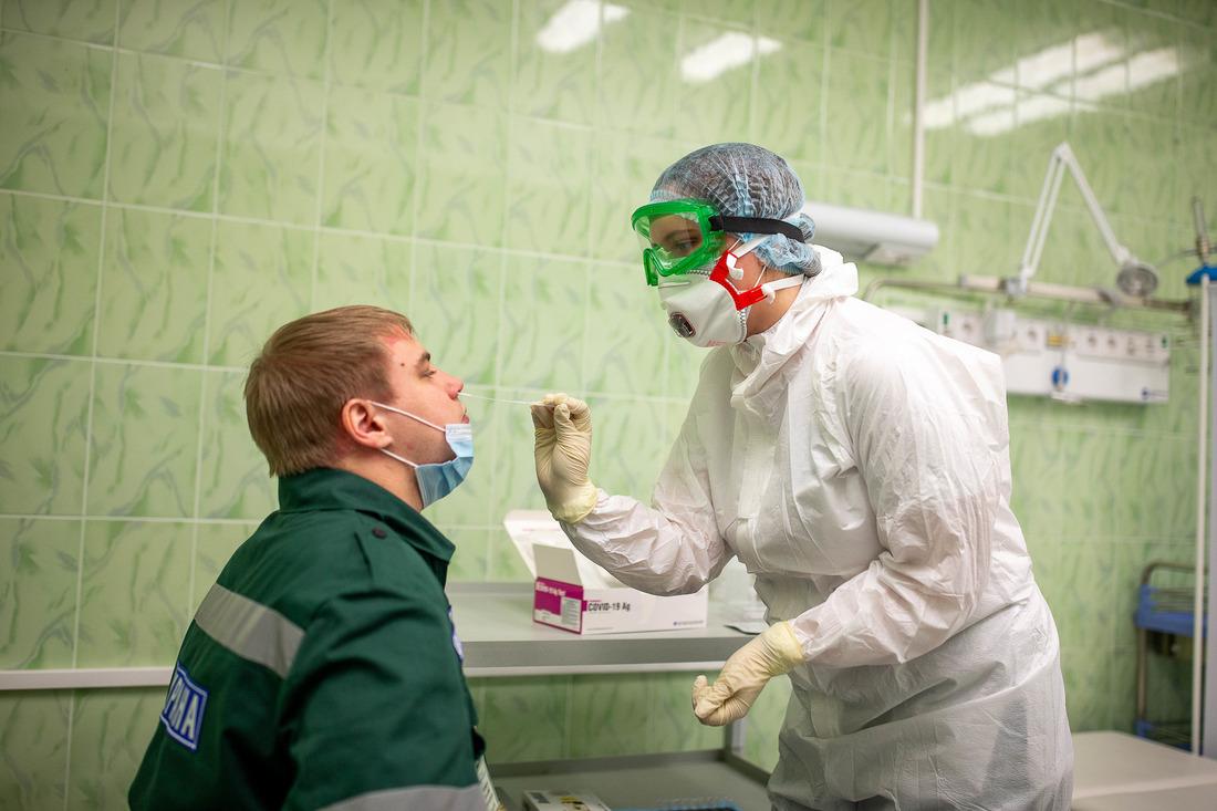 Исследования ПЦР-методом позволяют быстро иточно диагностировать COVID-19