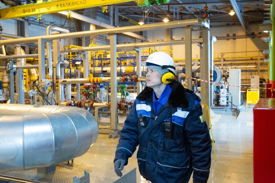 В составе Бованенковского месторождения действуют три газовых промысла