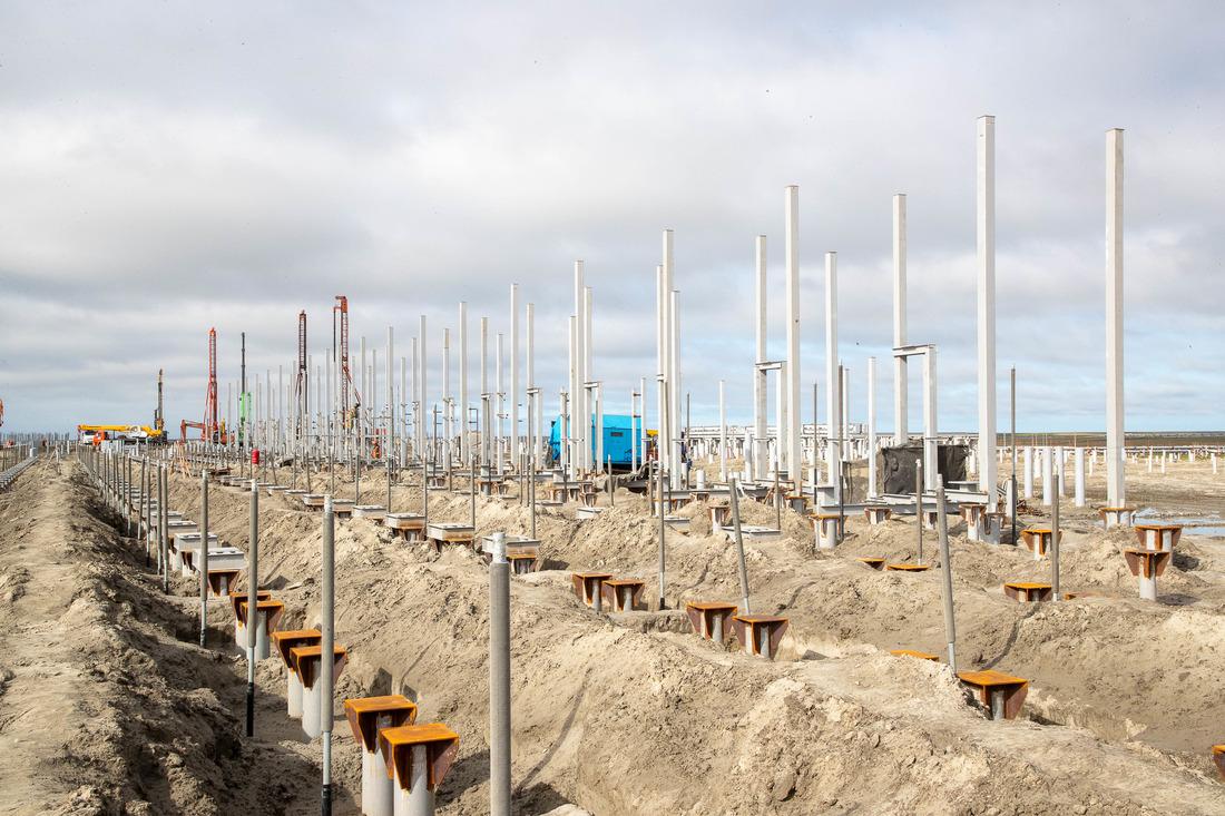 Начало строительства установки комплексной подготовки газа наХарасавэйском месторождении